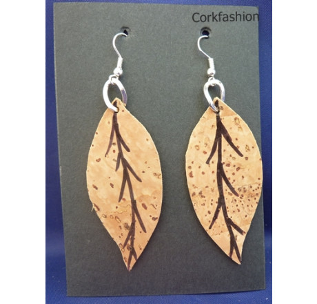 Earrings (LC-822 model) from the manufacturer Luisa Cork in category Corkfashion
